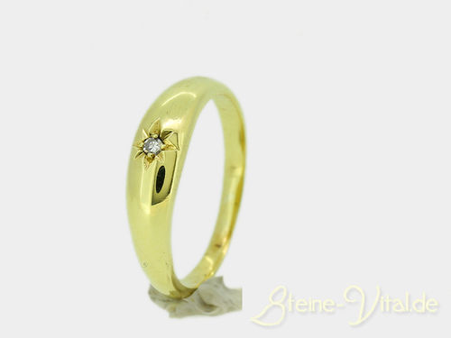 333er Ring mit Brillant (558)