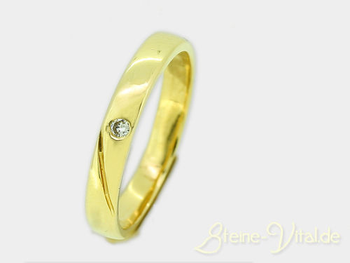 585er  Ring mit  Brillant (568)